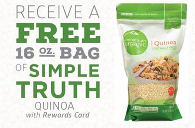 screen shot 2014 09 18 at 11 35 15 am Ralphs: FREE Simple Truth Quinoa