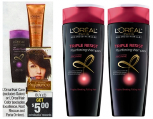 screen shot 2014 09 19 at 8 42 48 pm 300x232 LOreal Advanced Shampoo or Conditioner Only $0.49 at CVS, Beginning 9/21