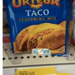 Target: Free Ortega Taco Seasoning Mix (Ends Today)!