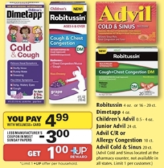 screen shot 2014 09 26 at 7 15 03 pm Children's Advil, Dimetapp or Robitussin Only $0.27!