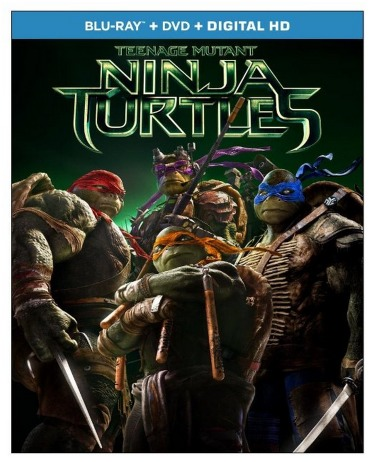 New Teenage Mutant Ninja Turtles (Blu ray + DVD + Digital HD) only $19.99 (Reg. $39.99)