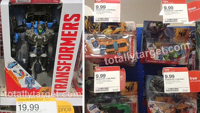 transformers Target: Select Transformers Toys Only $7.50