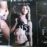 FREE Victoria's Secret Undie Coupon (No Purchase Needed – $10.50 Value!)