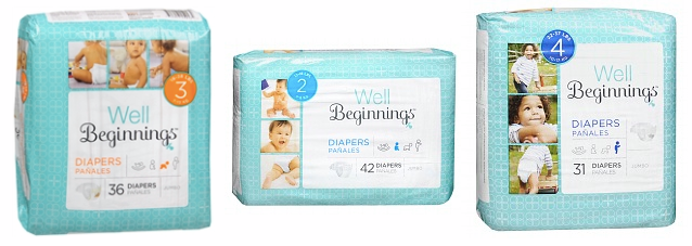 wal Walgreens: *HOT* Well Beginnings Diapers Packages ONLY $4.75!