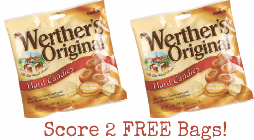 werthers Walgreens: 2 FREE Bags of Werthers Candy