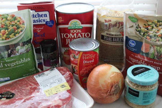 284 Crock Pot Vegetable Beef Soup