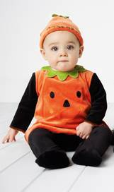 3 Its a Giveaway: Mamas & Papas Pumpkin Halloween Costume ($38.99 Value)