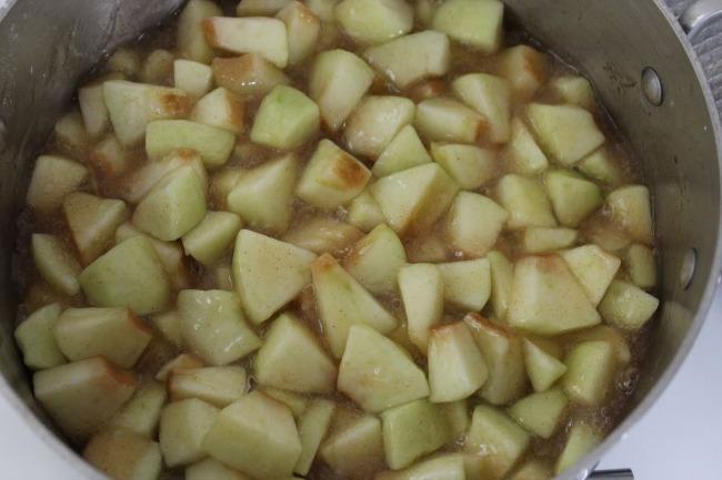 415 Baked Apple Chimichangas