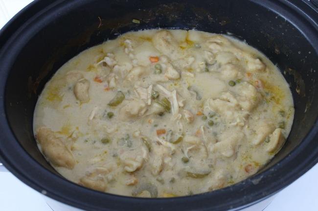 525 Crockpot Chicken and Dumplings