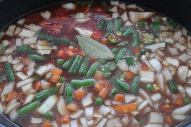 530 Crock Pot Vegetable Beef Soup