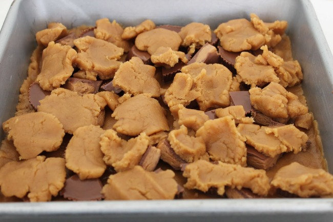 61 Reeses Peanut Butter Cup Blondies
