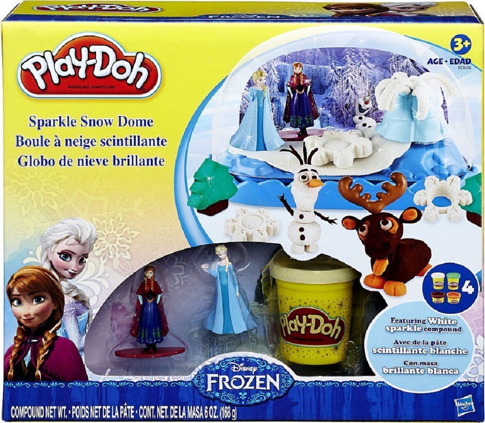 717dhV+XcmL. SL1500  Amazon: Disney Frozen Play doh Sparkle Snow Dome Only $24.25 Shipped (Reg. $49.95)