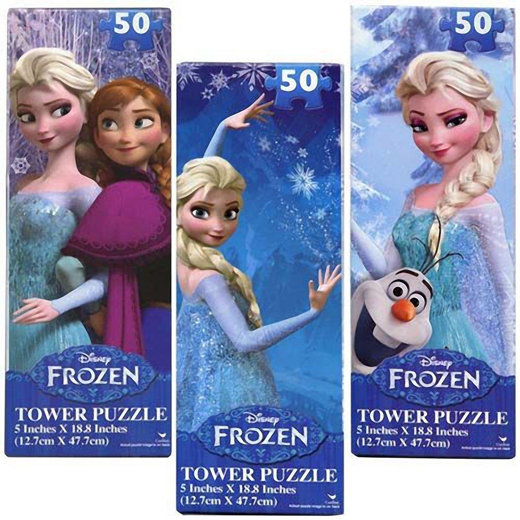 71onu8N7FfL. SL1050  Amazon: Disney Frozen 50 Piece Jigsaw Tower Puzzle Set of 3 Only $9.99 (Reg. $19.99)