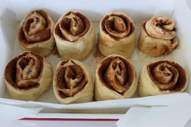 72 Eggnog Cinnamon Rolls