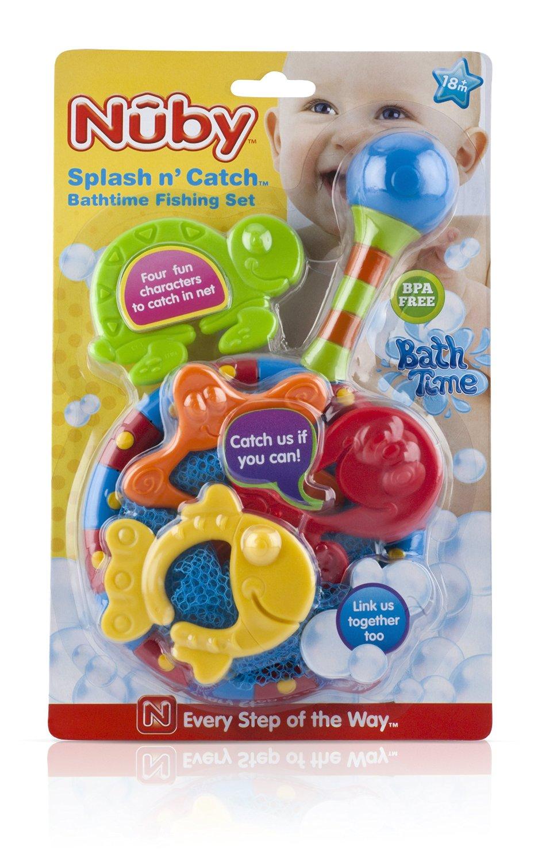 810Kp9MxbbL. SL1500  Amazon: Nuby Splash n Catch Bath Time Fishing Set Only $5.98 (Reg. $14.55)