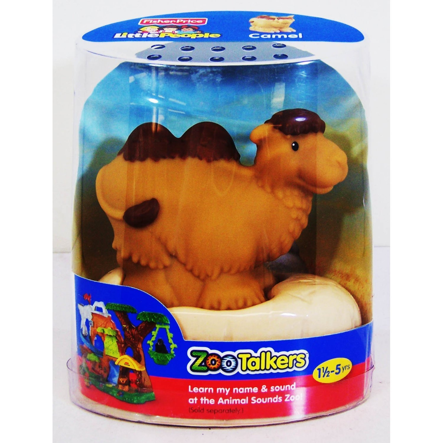 81442xfnq8L. SL1500  Amazon: Fisher Price Little People Zoo Talkers   Camel Only $5.12 (Reg. $14.99)