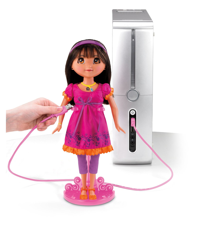 81MfCSXY5uL. SL1500  Amazon: Mattel Dora Links Doll Only $16.99 (Reg. $64.99)