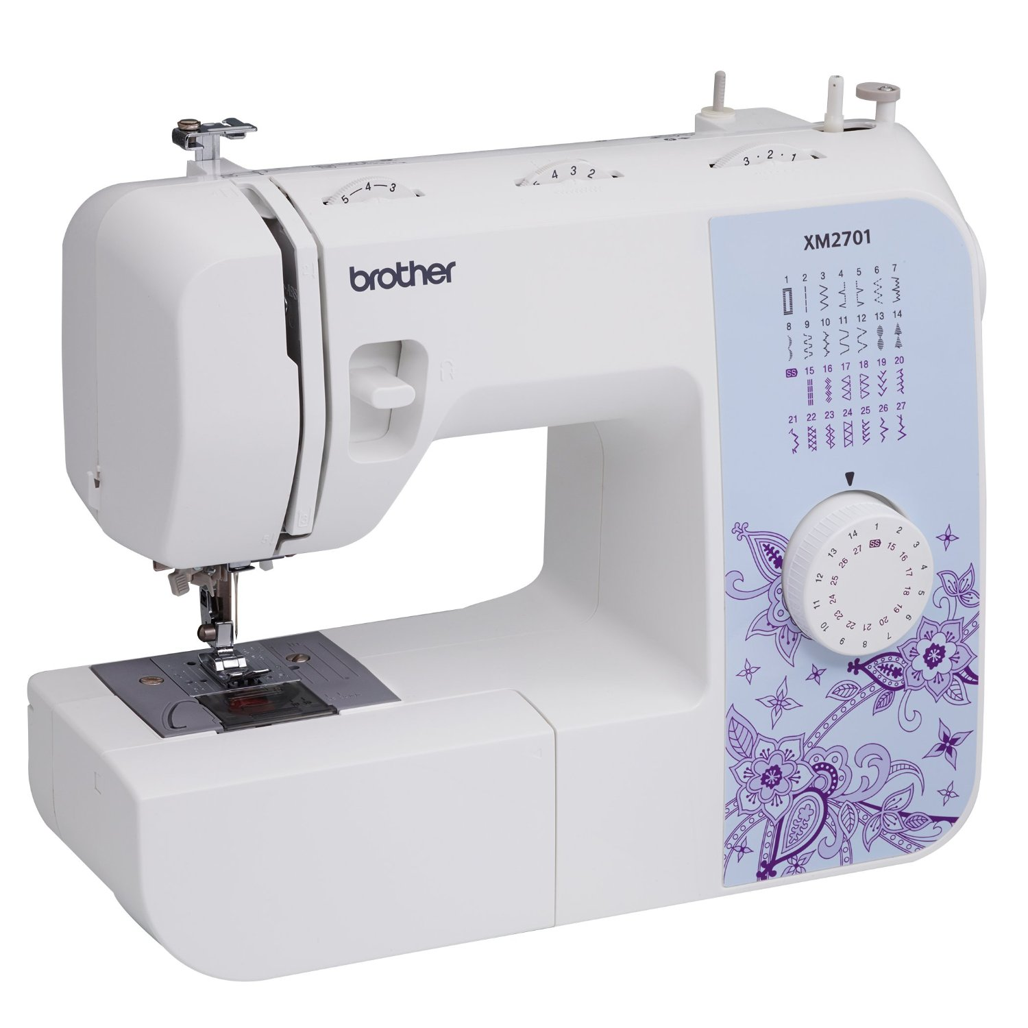81gADh1LR9L. SL1500  Amazon: Brother XM2701 Lightweight, Full Featured Sewing Machine Only $91.80 Shipped (Reg. $169.99)