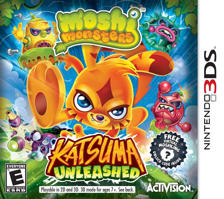 81uRwAP YzL. SL1500  Amazon: Moshi Monsters: Katsuma Unleashed Game   Nintendo 3DS Only $9.97 (Reg. $29.99)