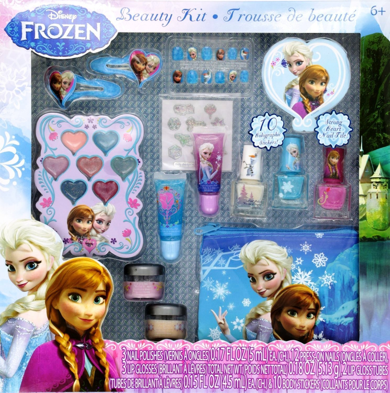 81wWpQexe3L. SL1500  Amazon: 12 Piece Disneys Frozen Beauty Cosmetic Set for Kids Only $11.50 Shipped