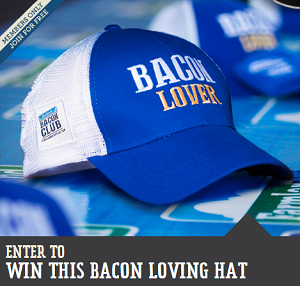 Bacon Lover Hat FREE Bacon Lover Hats Giveaway (250 Winners)