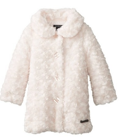 Calvin Klein Little Girls' Faux Fur Coat Only $23.99 (Reg. $79.99!)