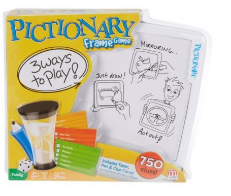 Highly Rated Pictionary Frame Game Only $7.19 (Reg. $19.99)!