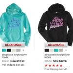 *HOT* Aeropostale: Jackets Only $12, Hoodies Only $7 and MUCH MORE! (Great Gifts)