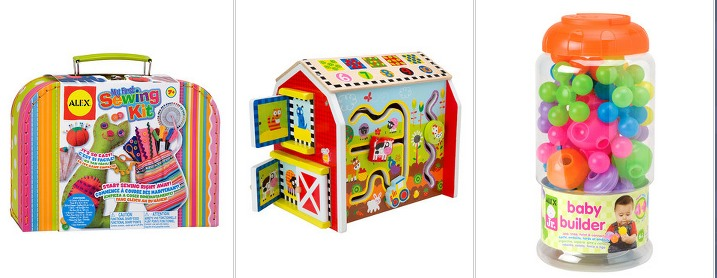 *HOT* 50% Off ALEX Toys (All Different Ages and Boys and Girls!)