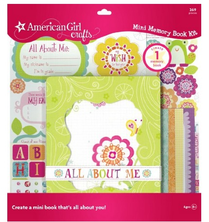 American Girl Crafts Memory Book Only $5.44 (Reg. $10)   PERFECT STOCKING STUFFER!