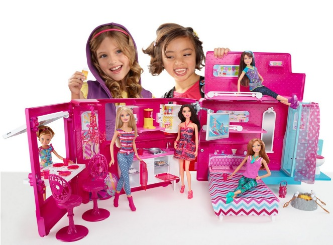 Barbie Sisters Life in The Dreamhouse Camper Only $68 (Reg. $90!) + FREE Shipping!
