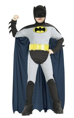 Batman Classic Halloween Costume for Children Only $16.38 (Reg. $30!)