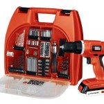 Black & Decker 20-Volt MAX Lithium-Ion Drill Kit with 100 Accessories Only $62.99 (Reg. $139.99) + FREE Shipping!
