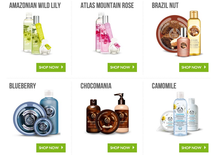 *HOT* The Body Shop: Buy 3, Get 3 FREE + FREE Shipping = GREAT DEALS!