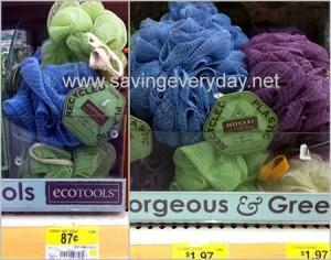 ecotools walmart 300x236 EcoTools Sponges = FREE + $0.13 Overage at Walmart