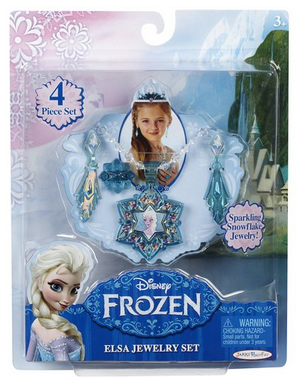 elsa Amazon: Disney Frozen 4 pc. Elsa Jewelry Play Set Only $7.03 Shipped