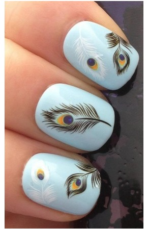 CUTE Feather Nail Decals Only $2.59 + FREE shipping! (Great Stocking Stuffers!)