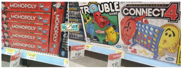 Classic Board Games as low as $4.87 at Walmart