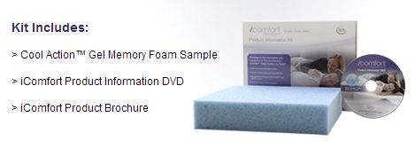 gel *HOT* FREE Serta Memory Foam Kit + FREE Shipping!