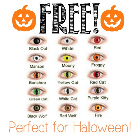 NEW OFFER *HOT* FREE 1 Month Trial Pair of Contact Lenses (Colored or Normal!)