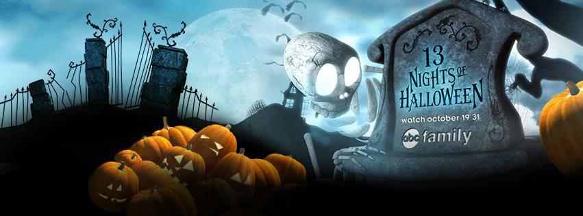 halloween Huge List of ABC: 13 Days of HALLOWEEN Schedule Start Times!