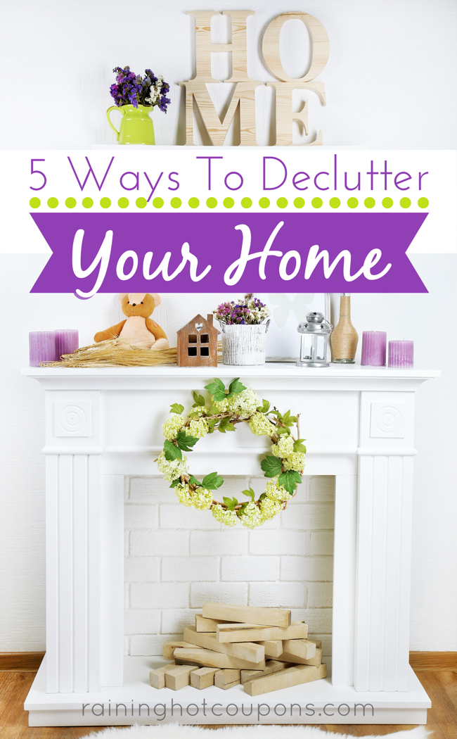 home 5 Ways To Declutter Your Home