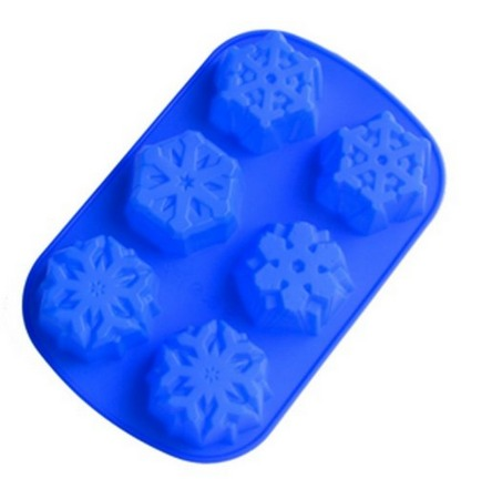 6 Snowflakes Silicone Cake Mold Only $5.48 + FREE Shipping! (Frozen Party?!)