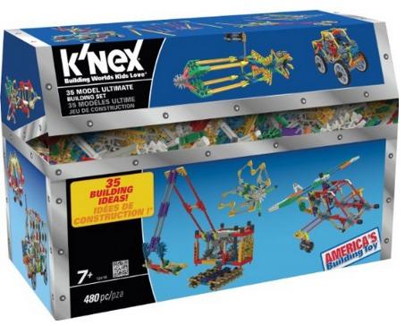 Knex 35 Model Ultimate Building Set Only $12.97 (Reg. $24.99)!