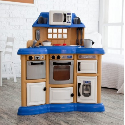 Hot American Plastics Homestyle Play Kitchen Only 37 30 Shipped Reg 70