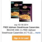 Kroger Freebie Friday: FREE Idahoan Steakhouse Casserole (Must Load eCoupon Today)