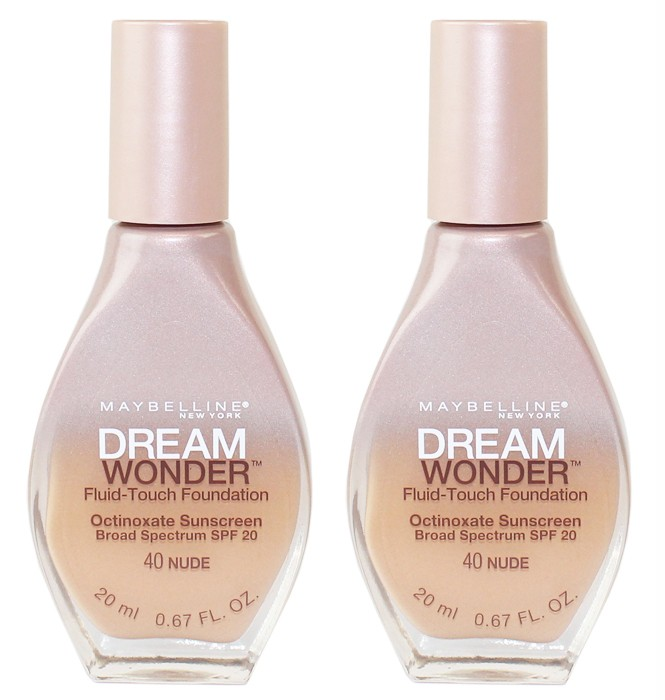 maybftf40x2 Walgreens: Maybelline Dream Wonder Fluid Touch Foundation Only $4.24 (Starting 10/19)