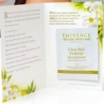 FREE Eminence Clear Skin Moisturizer Sample!