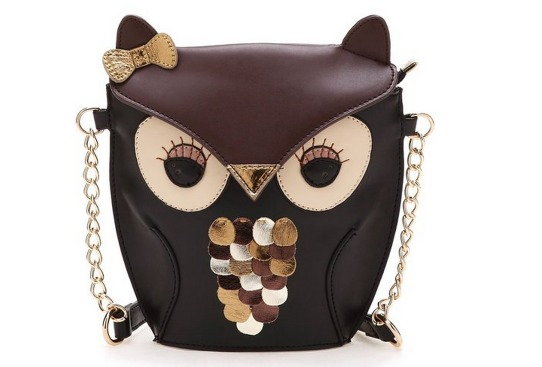 Cute Black Brown Owl Bag Only $8.94 + FREE Shipping (Reg. $19.99)!