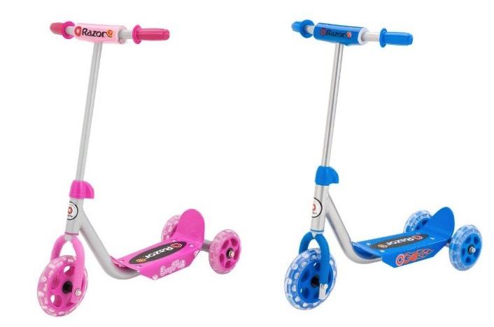 Razor Jr. Kiddie Kick Scooter in Pink or Blue Only $24.00 (Reg. $44.99)!